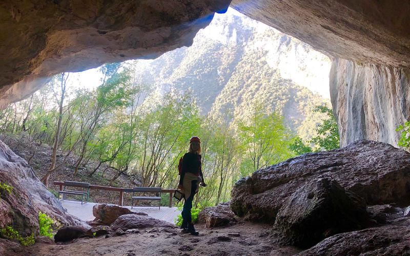 Black Cave of Pellumbas Tour